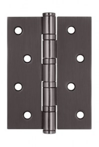 Canopy door ARSENAL 100X70X2.5 4BB BH black nickel